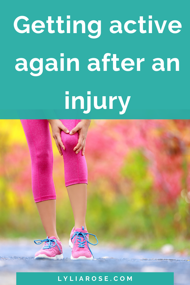 getting active again after an injury