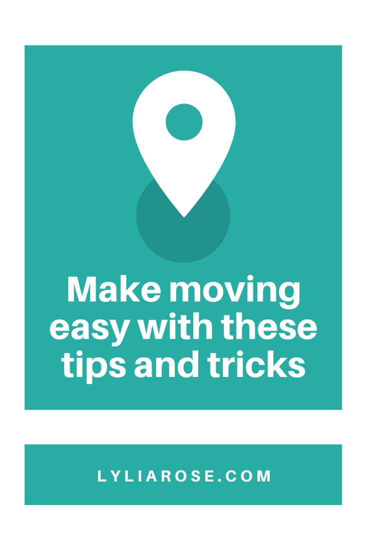 Make moving house easy with these tips and tricks