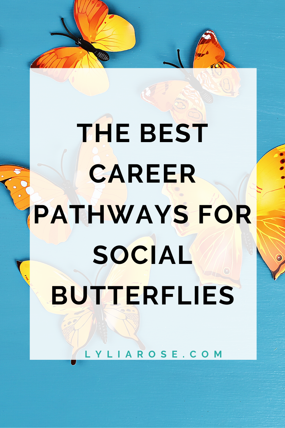 The best career pathways for social butterflies