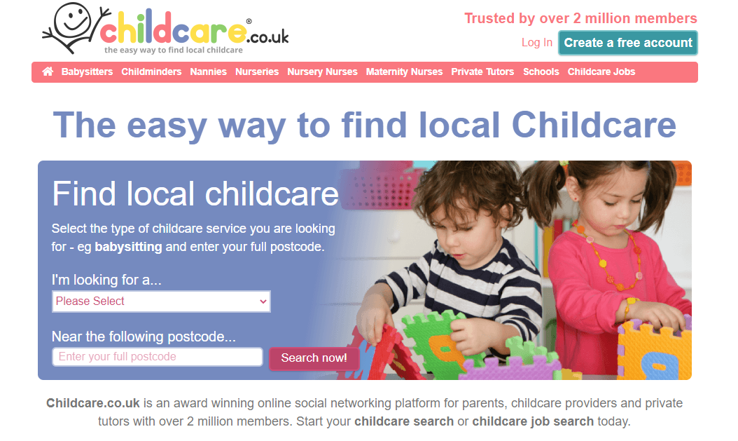 How to find childcare as a busy working parent