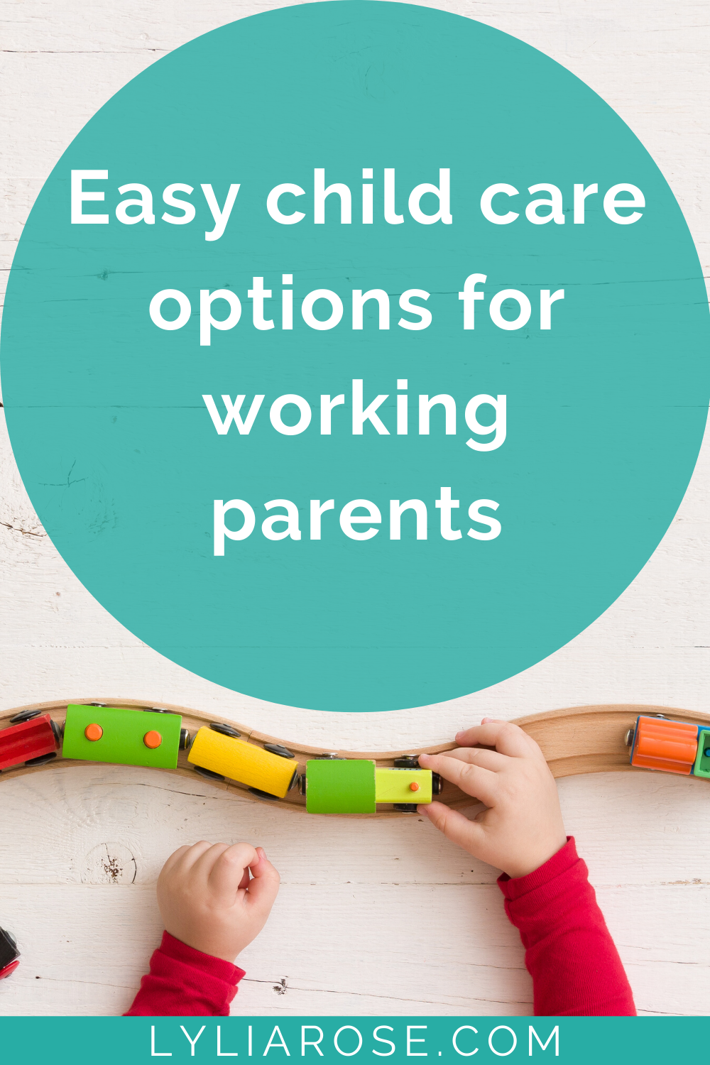 Easy child care options for working parents