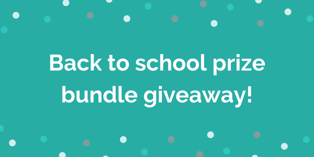 Back to school prize bundle giveaway!