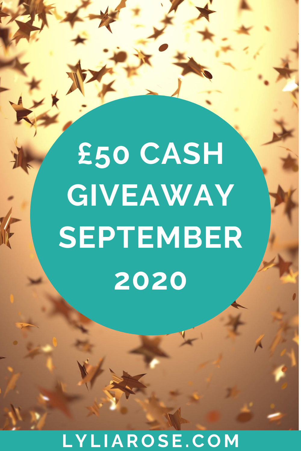 £50 cash giveaway September 2020
