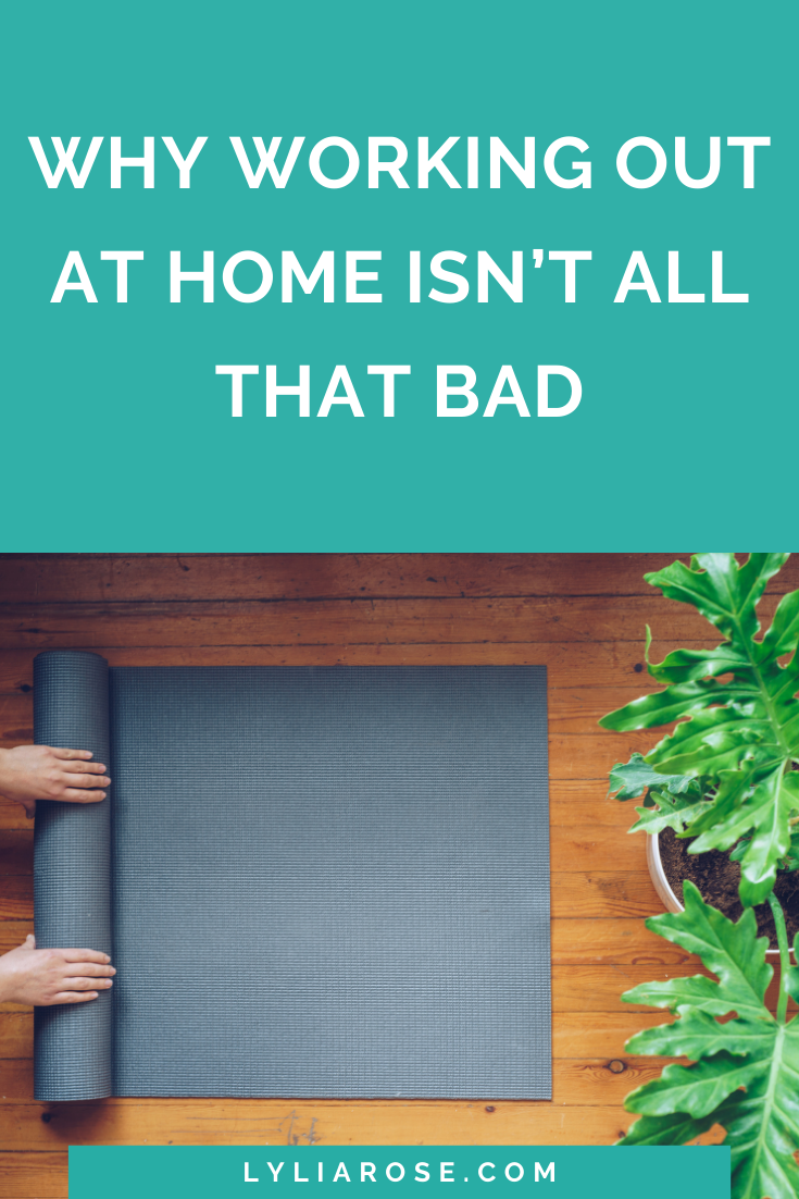 Why working out at home isn't all that bad
