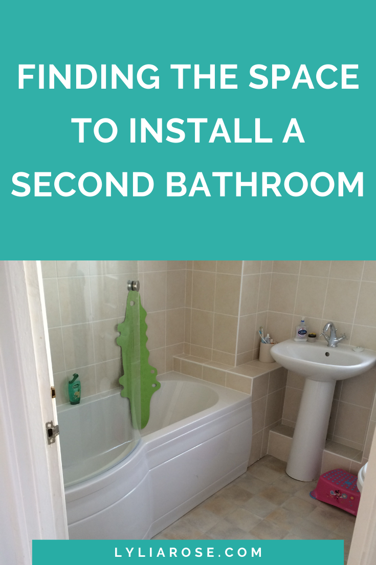 Finding the space to install a second bathroom