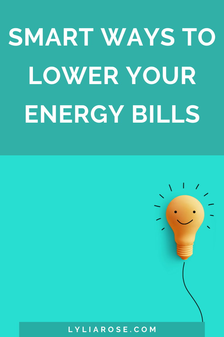 Smart ways to lower your energy bills