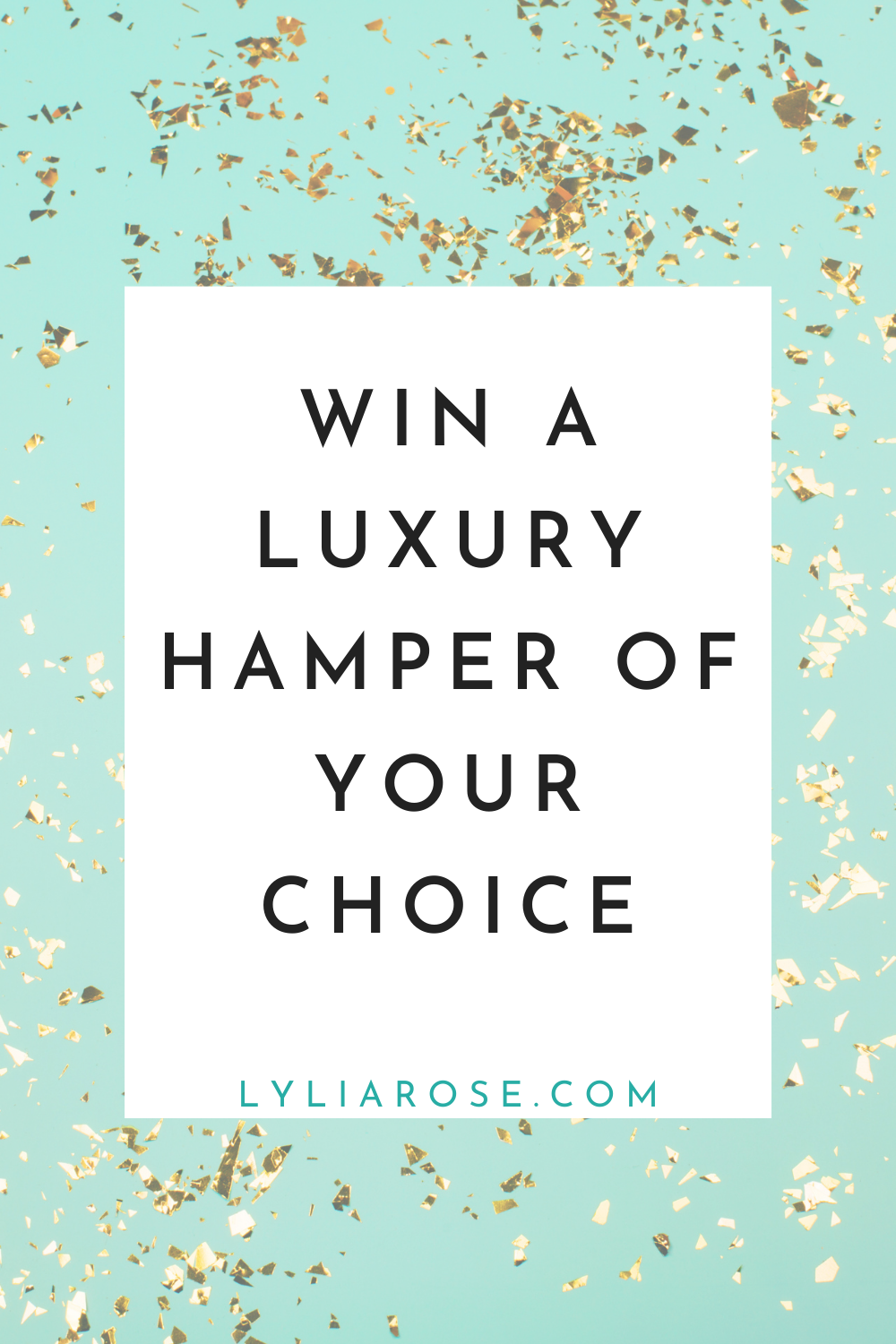 Win a luxury hamper of your choice