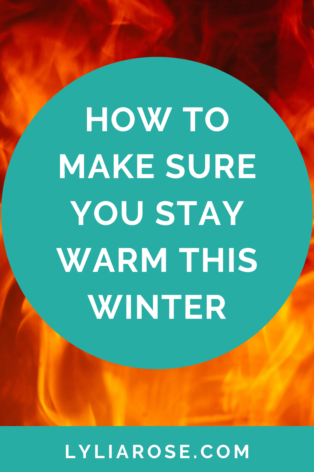 How to make sure you stay warm this winter