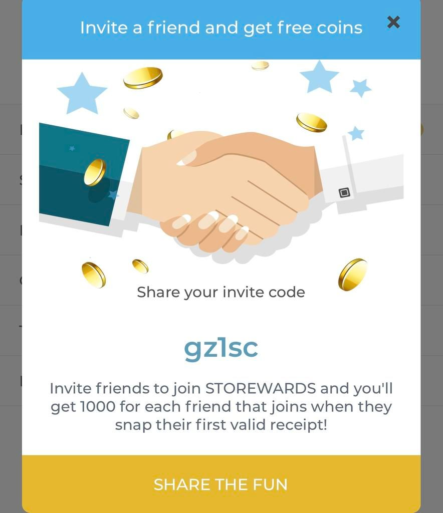 Storewards invite code + review