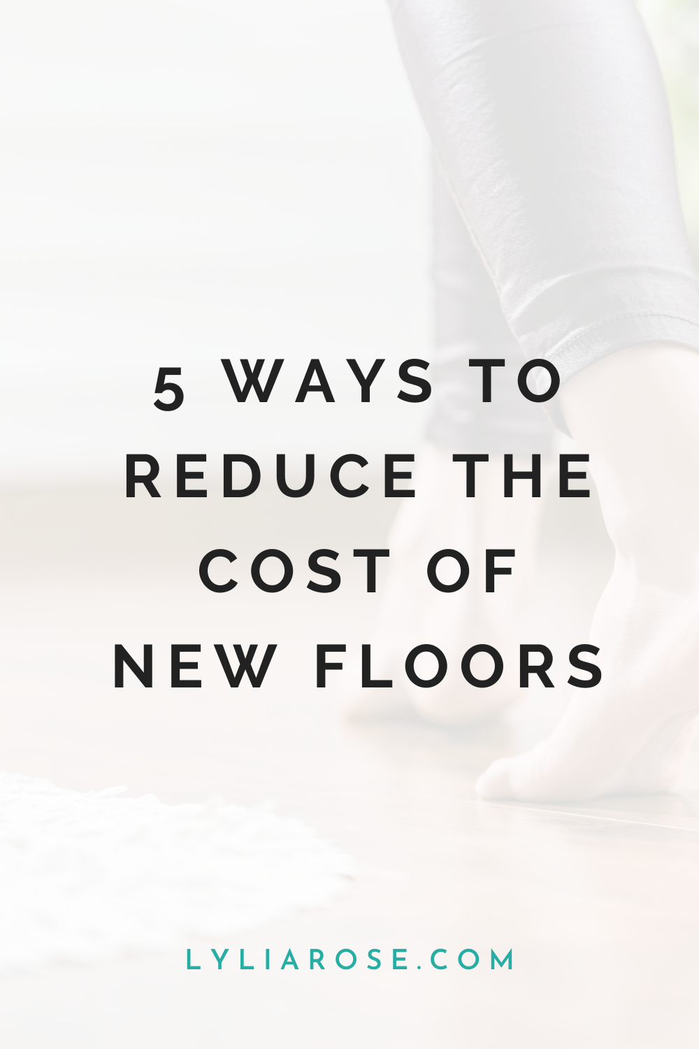 5 ways to reduce the cost of new floors