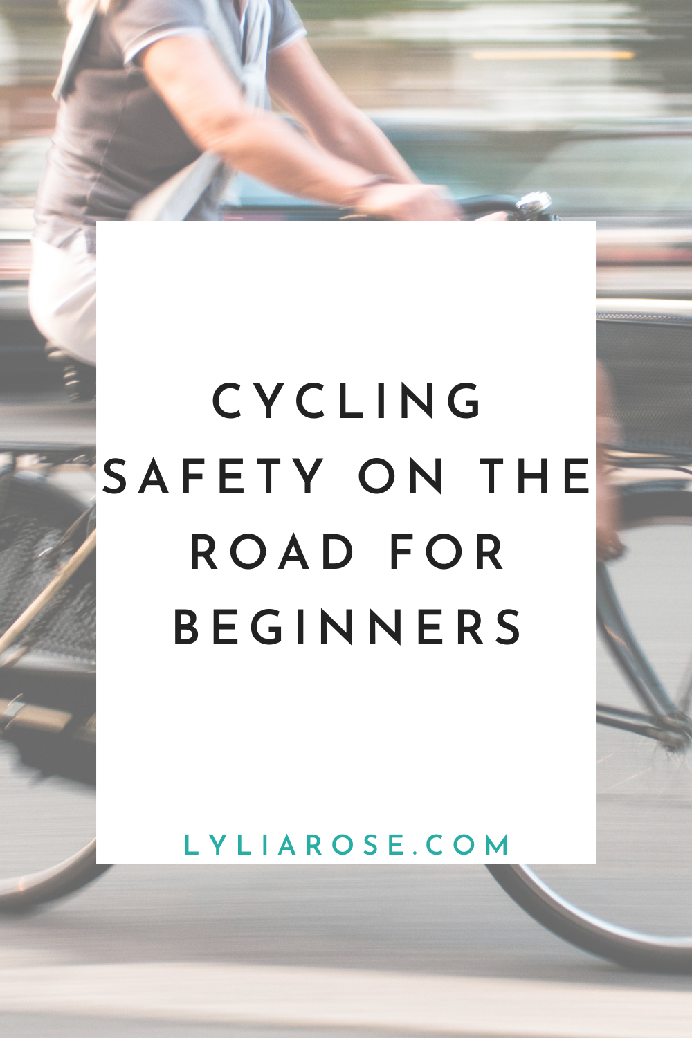 Cycling safety on the road for beginners