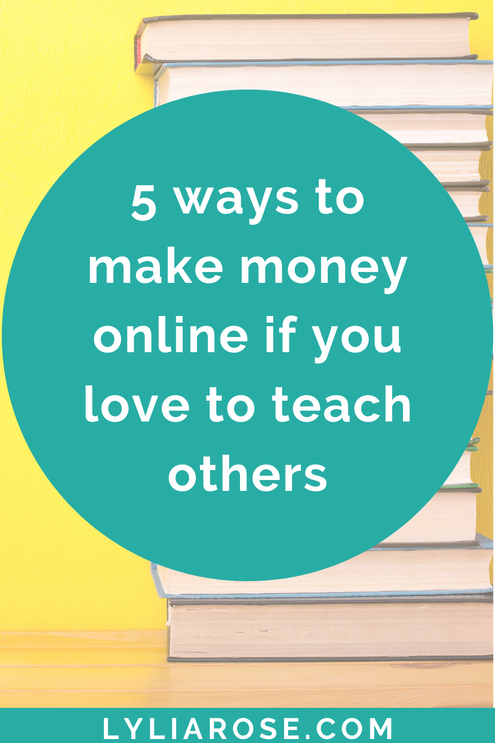 5 ways to make money online if you love to teach