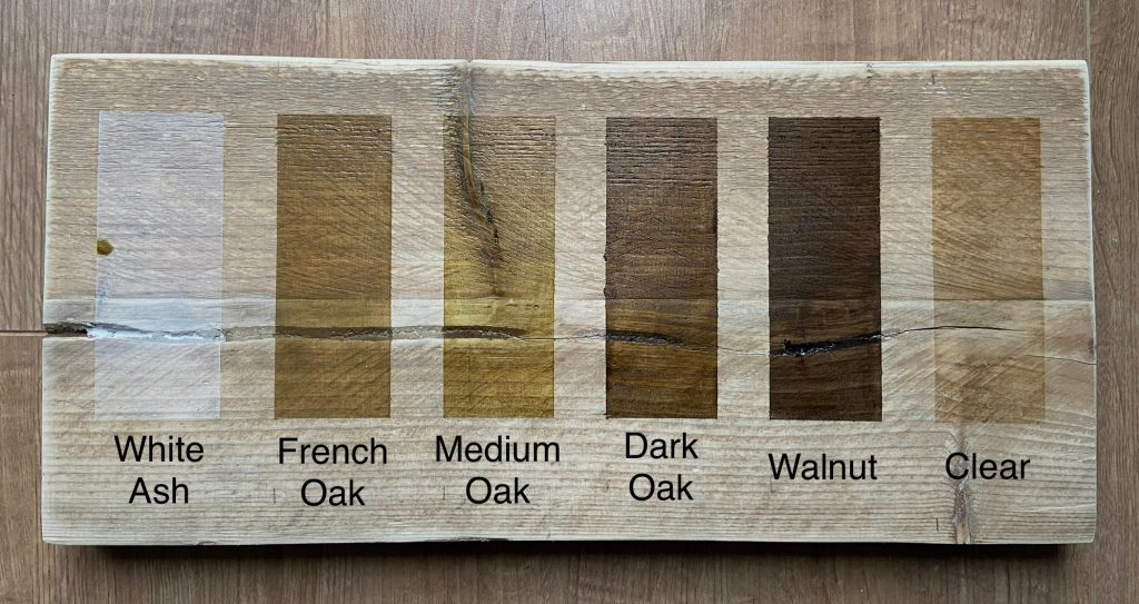 Wood create rustic scaffold furniture stain colour chart