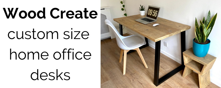 home office desk handmade