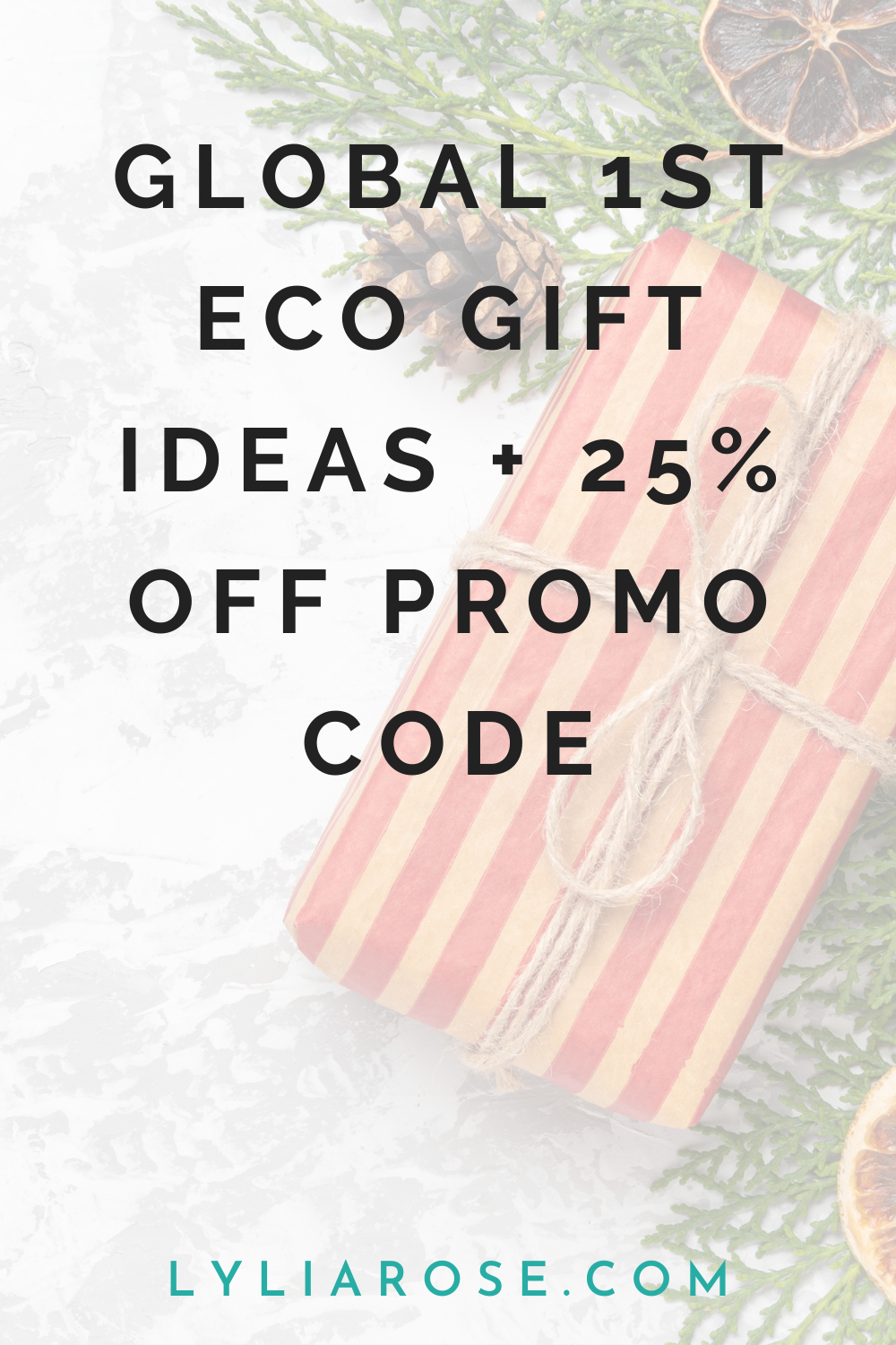 Global 1st eco friendly gift ideas + 25% off promo code (1)