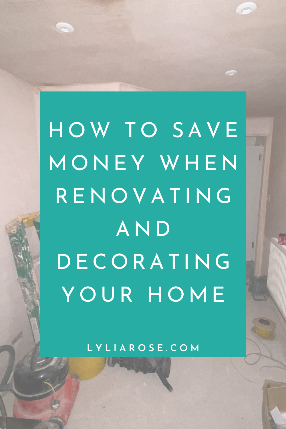 How to save money when renovating and decorating your home