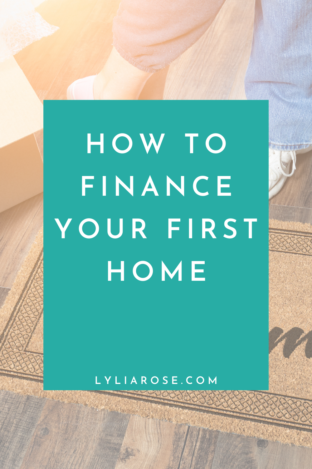 How to finance your first home (1)