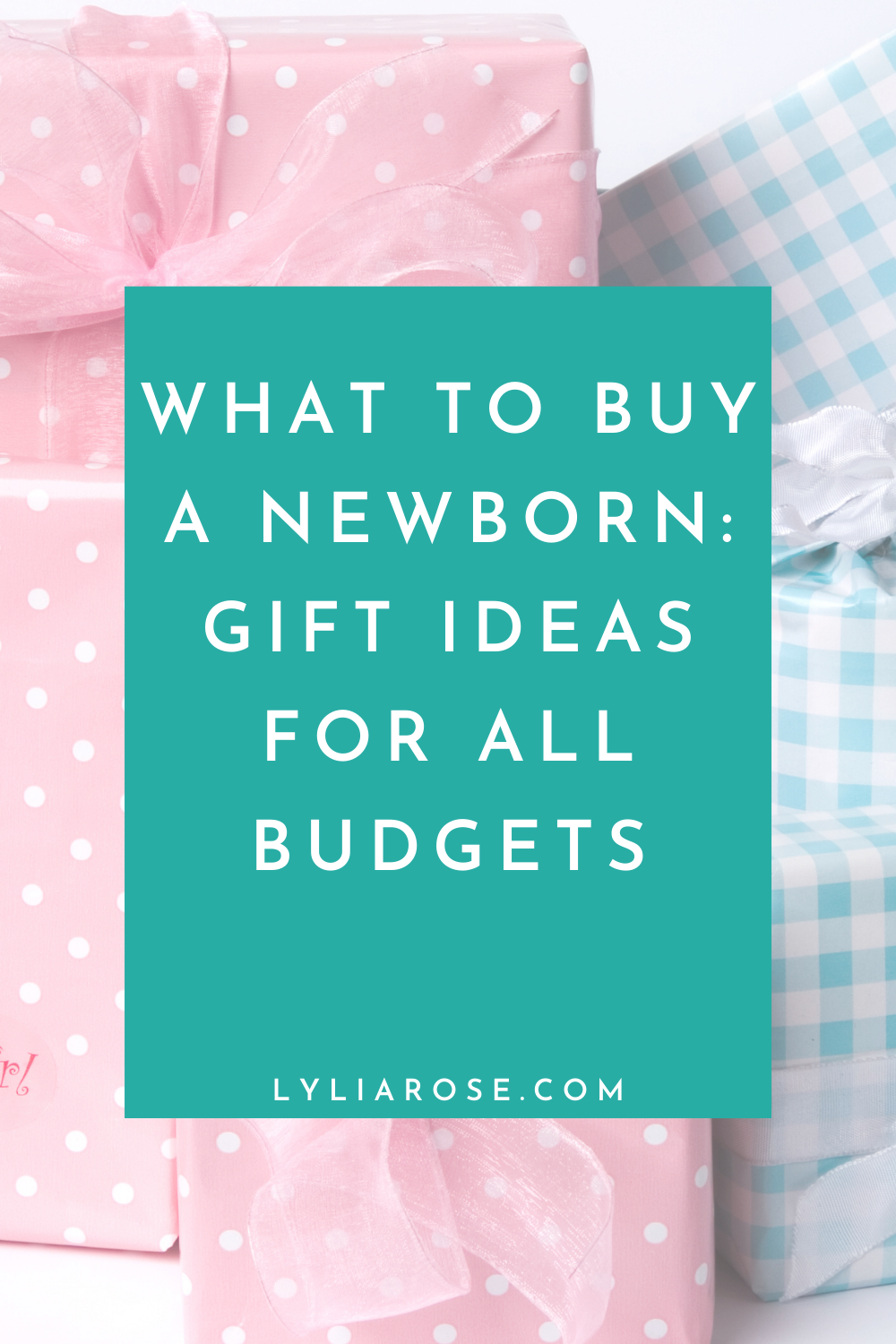 What to buy a newborn_ gift ideas for all budgets
