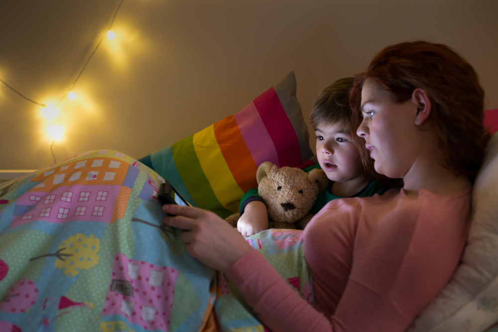 free bedtime stories via email