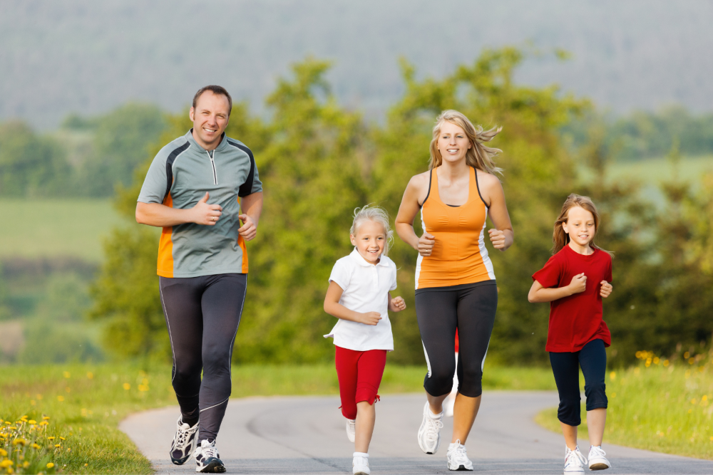 Fitness activities the whole family can enjoy