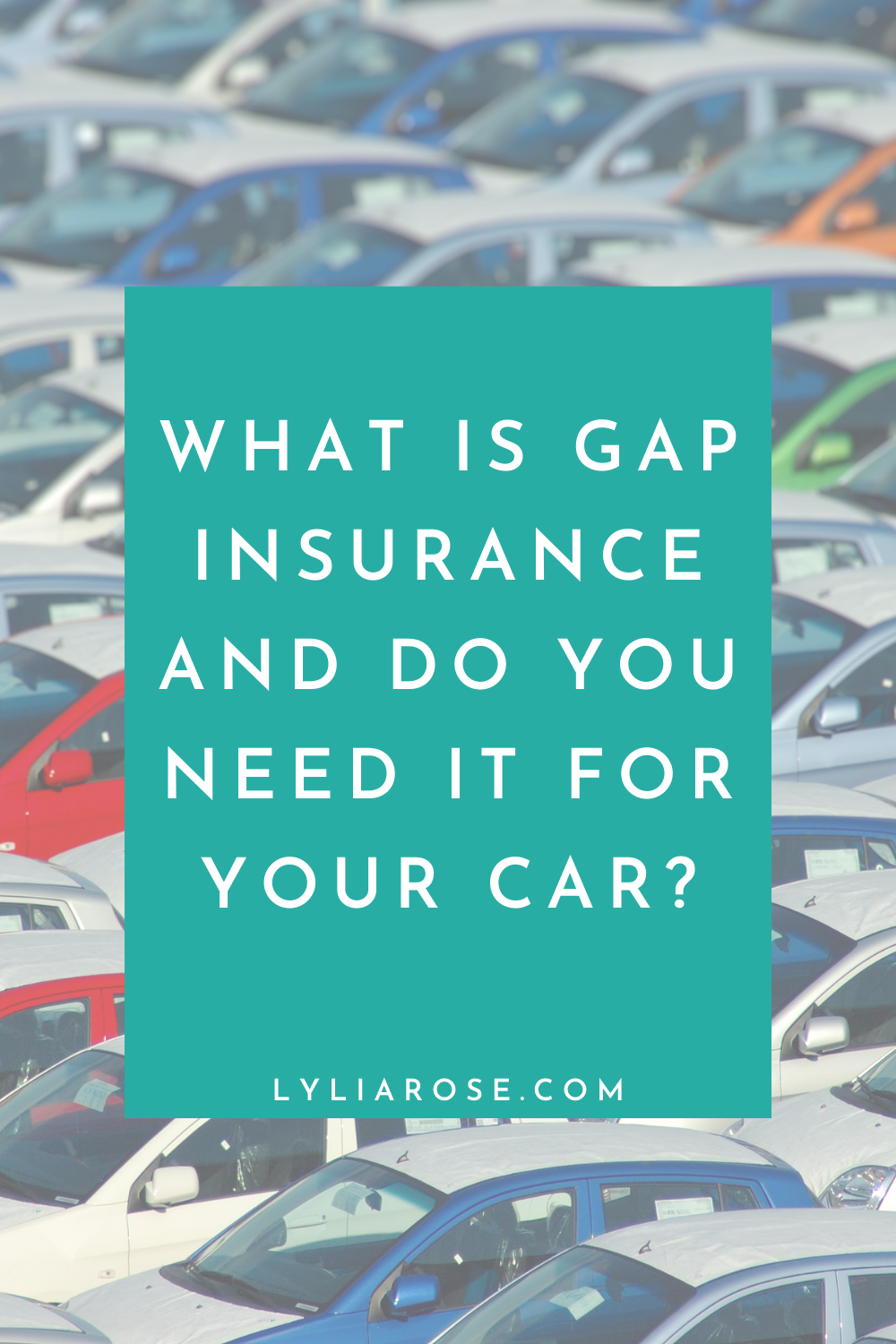 What is gap insurance and do you need it for your car