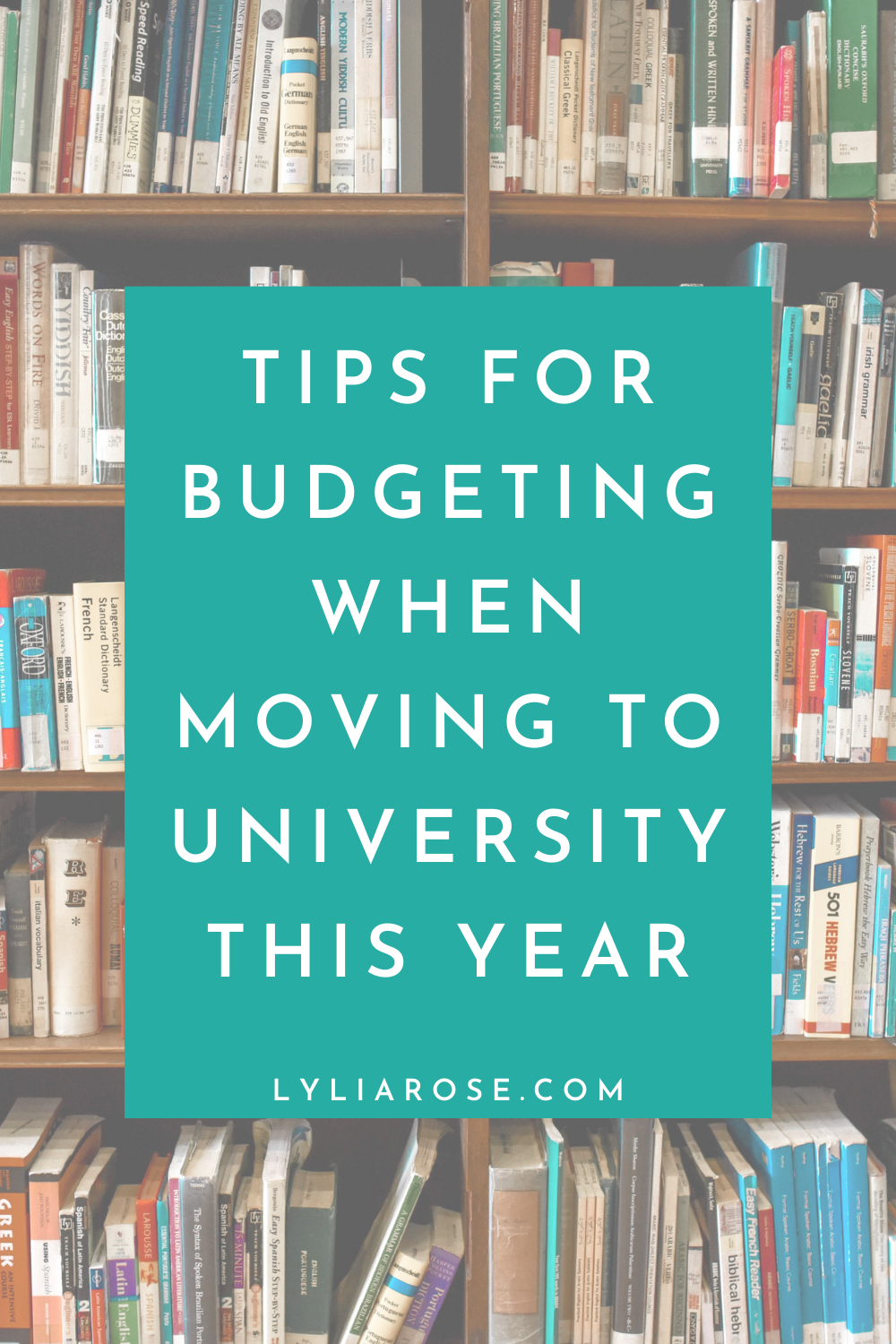 Tips for budgeting when moving to university this year