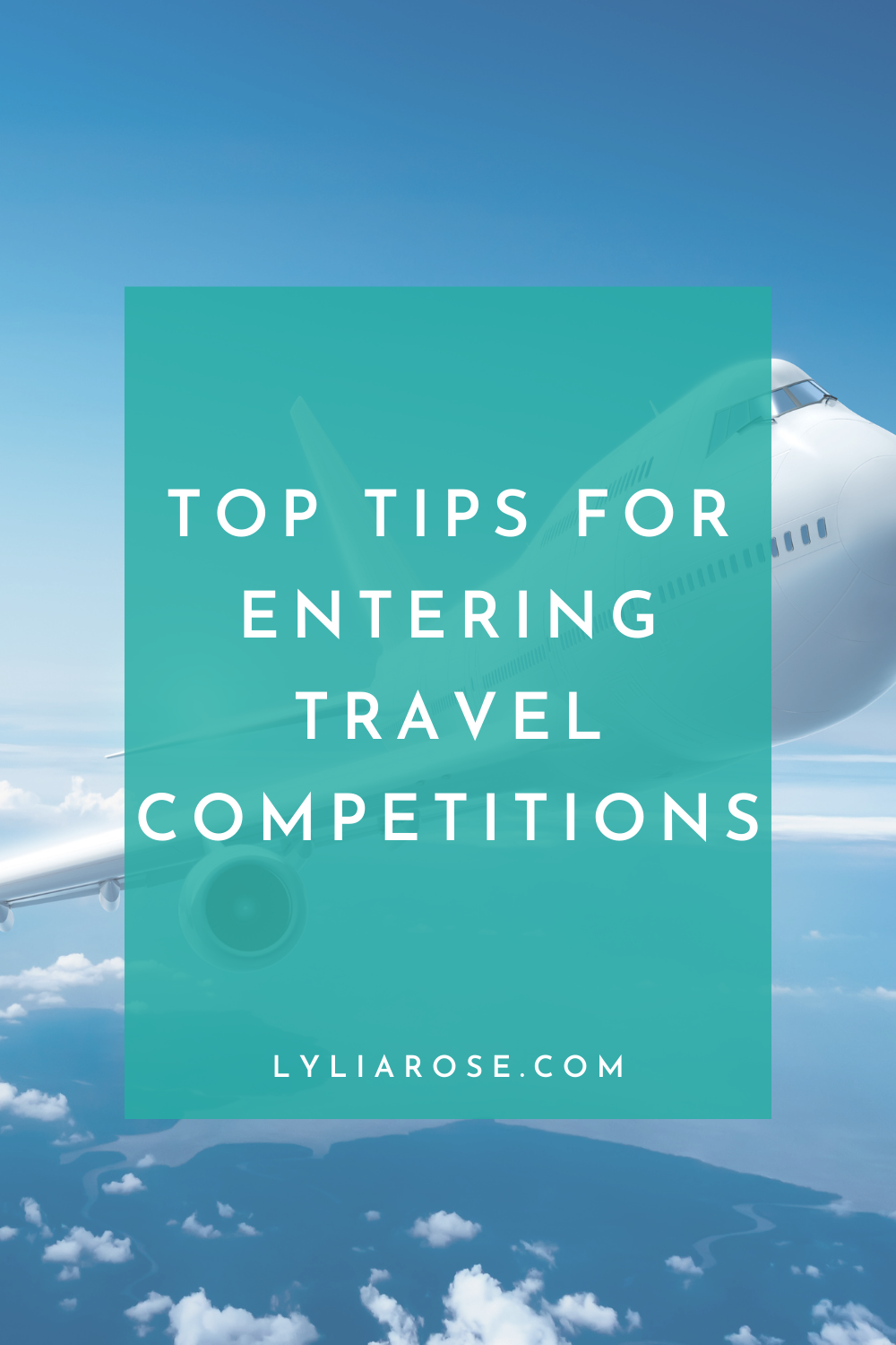 Top tips for entering travel competitions