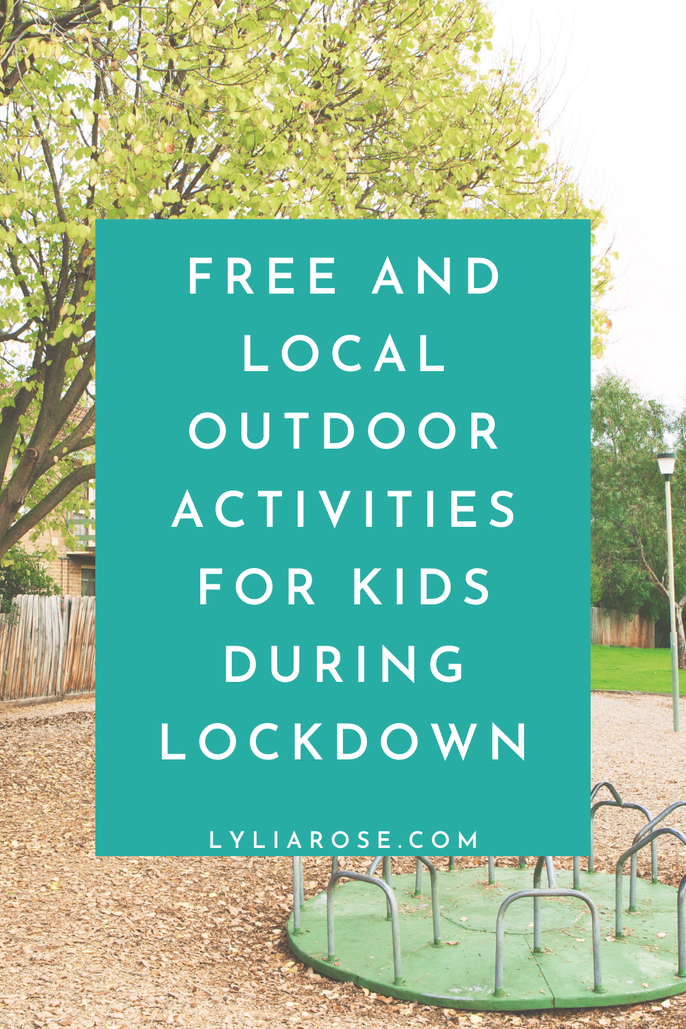 Free and local outdoor activities for kids during lockdown (1)