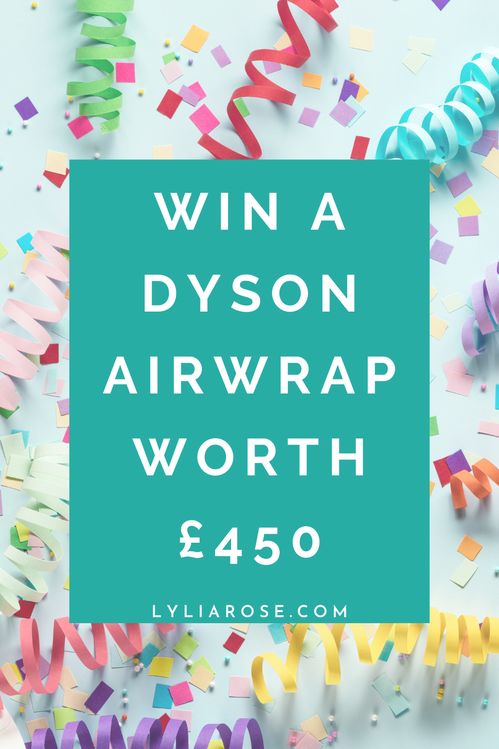 Win a Dyson Airwrap worth a whopping £450