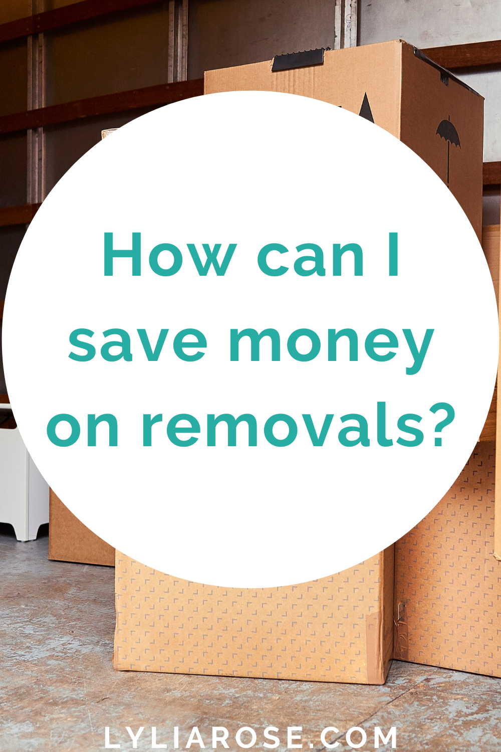 How can I save money on removals