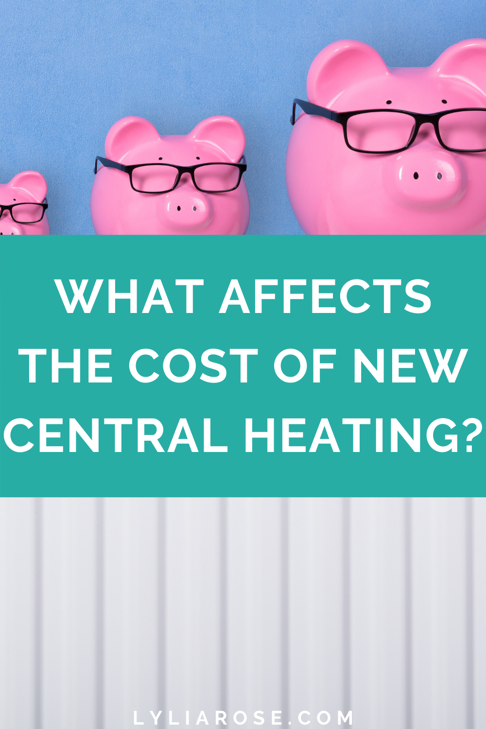 What affects the cost of new central heating