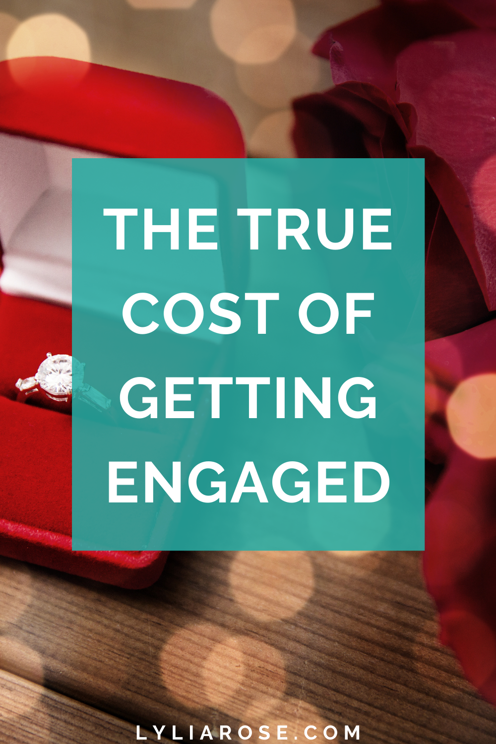 The true cost of getting engaged
