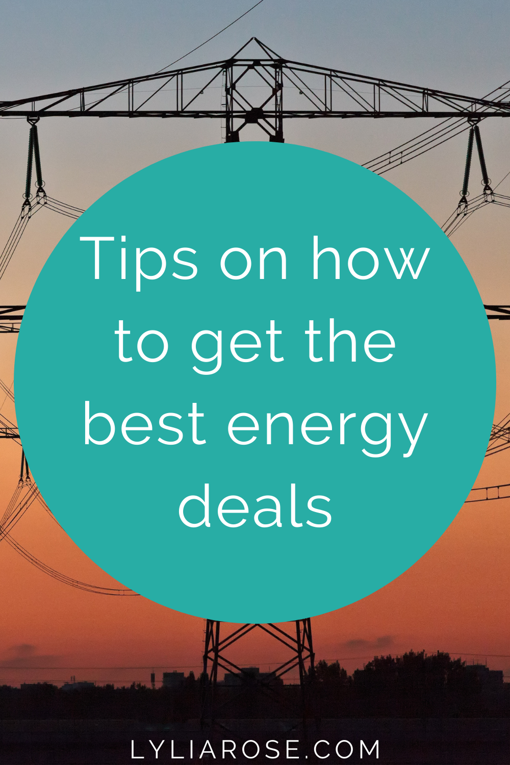 Tips on how to get the best energy deals