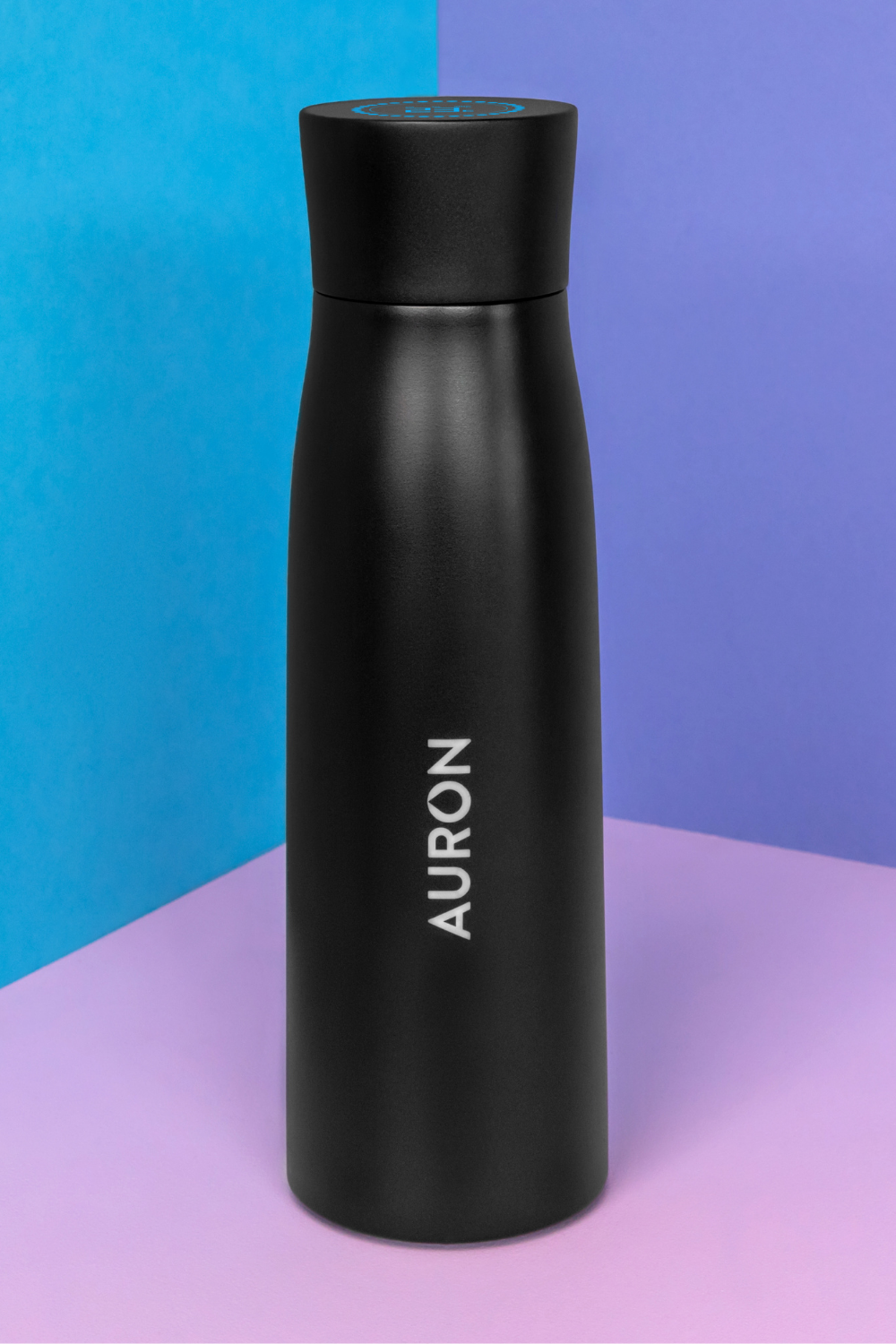 Auron self cleaning water bottle