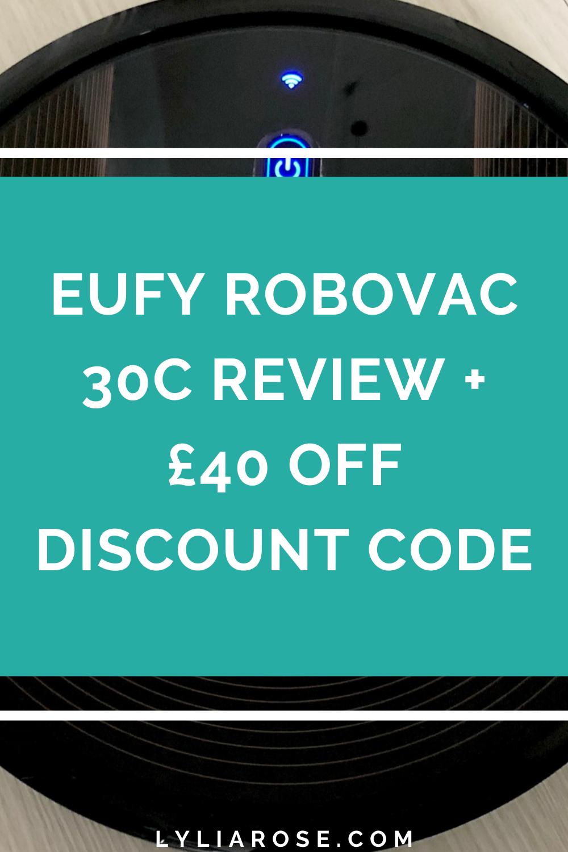 Eufy Robovac 30c review + £40 off discount code (3)