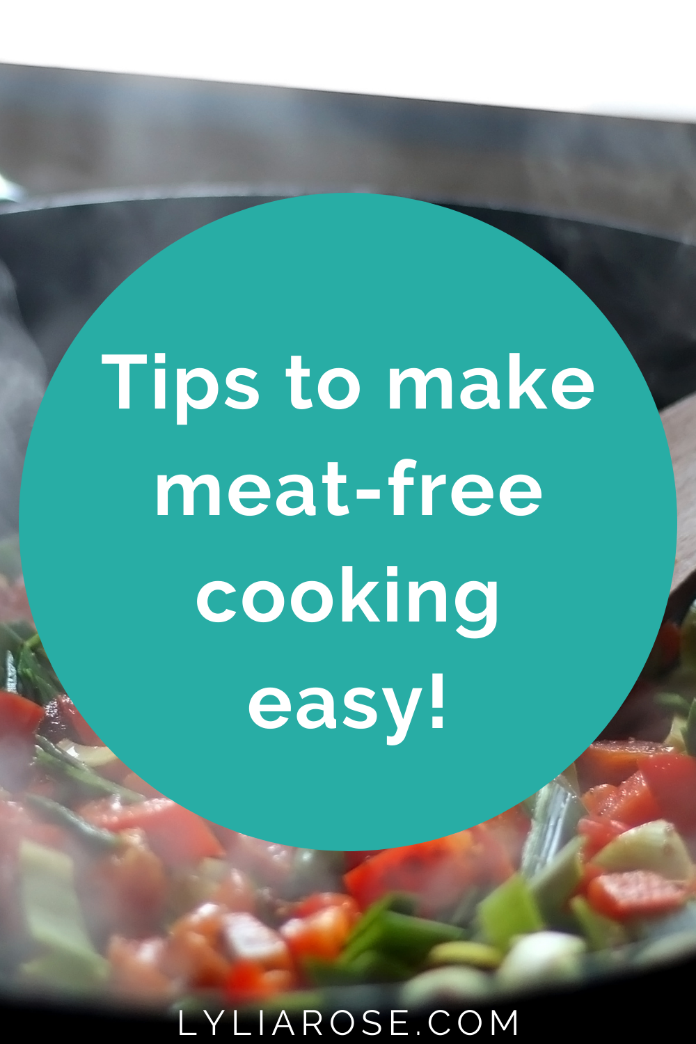make meat-free cooking easy