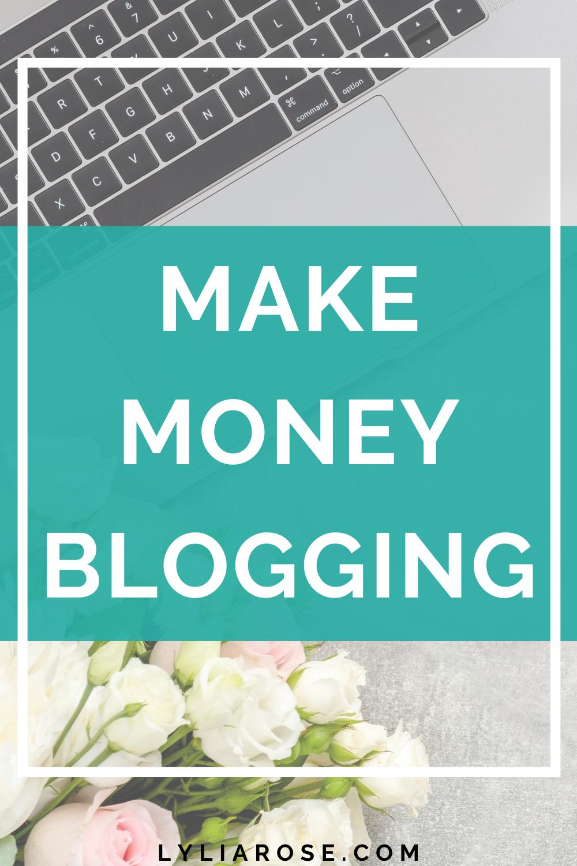 HOW TO START MAKING MONEY BLOGGING BLOGGER TIPS