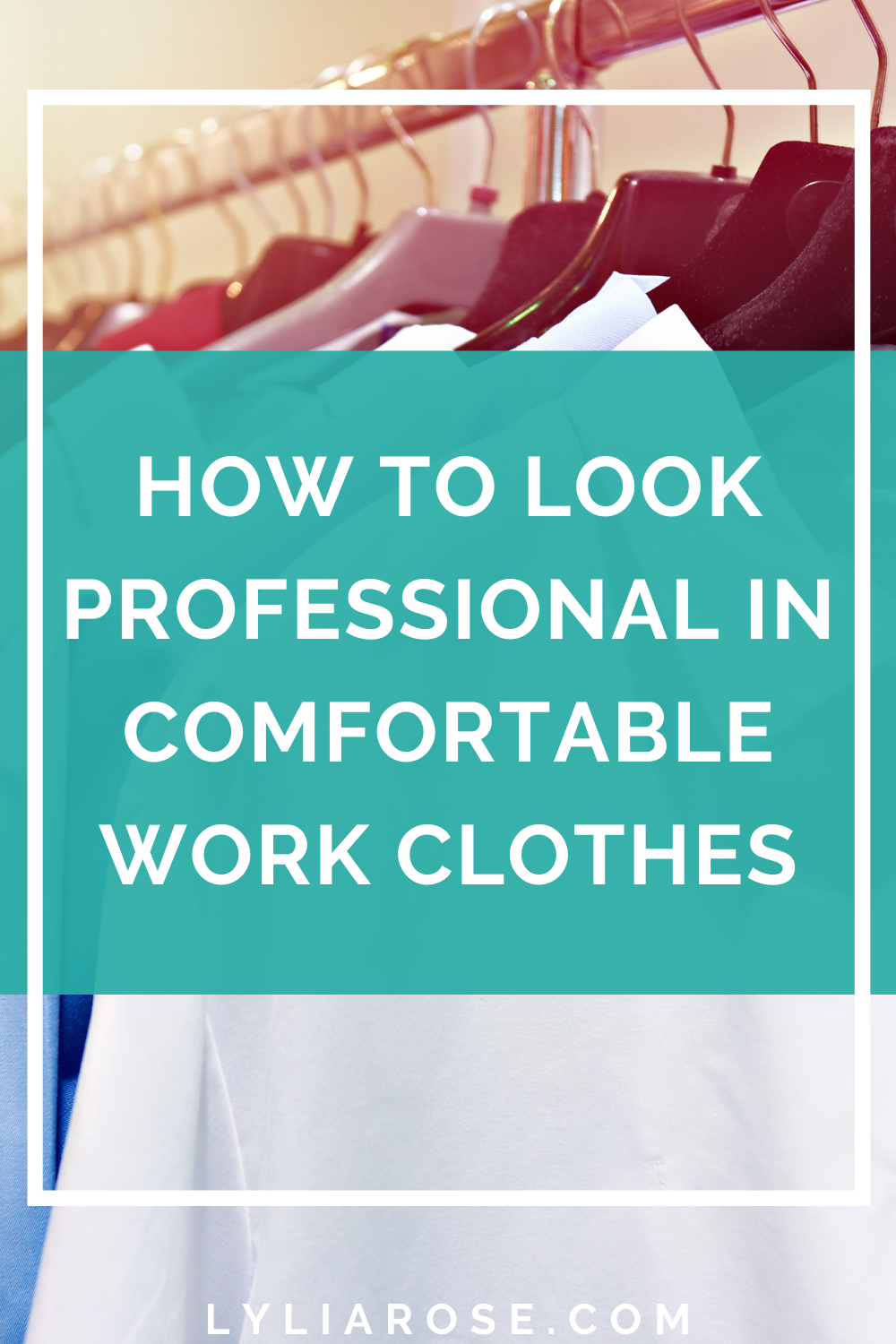 How to look professional in comfortable work clothes