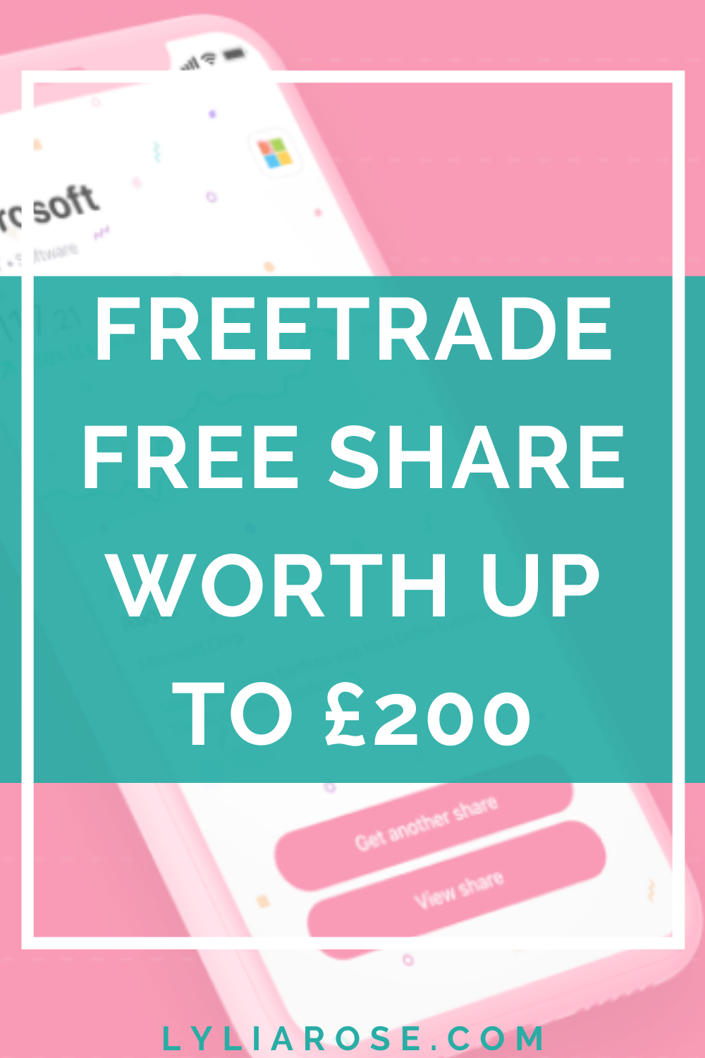 Freetrade free share worth up to £200