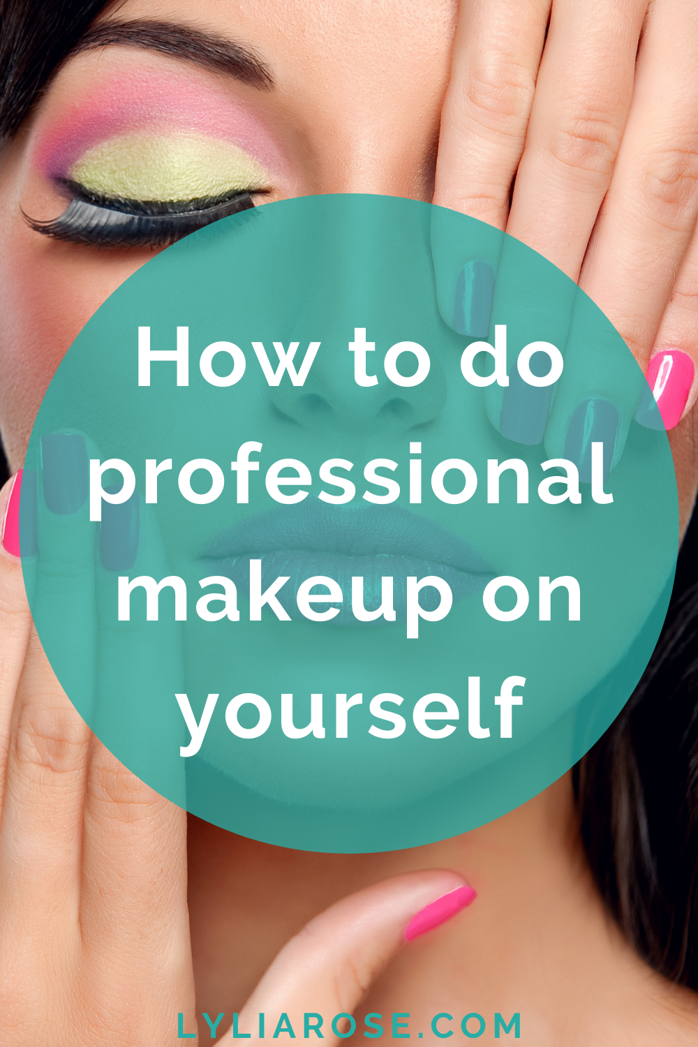 How to do professional makeup on yourself
