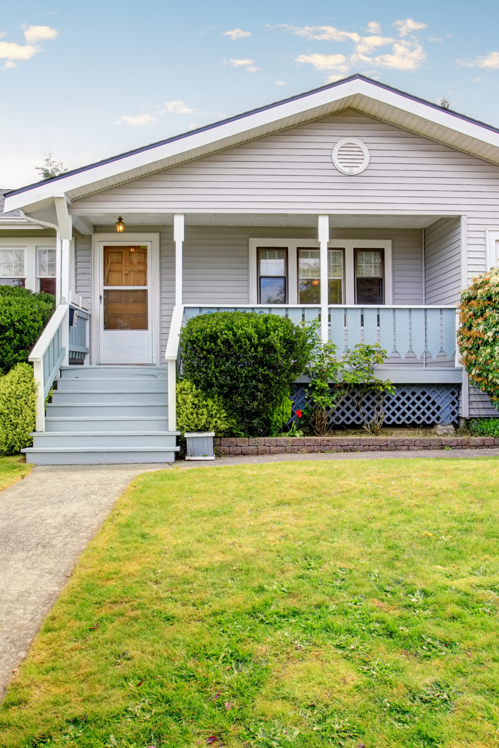 Invest in the exterior of property to get that house sold