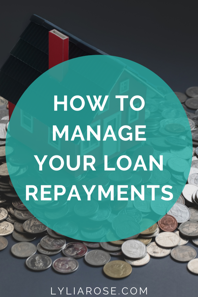 how to manage your loan repayments