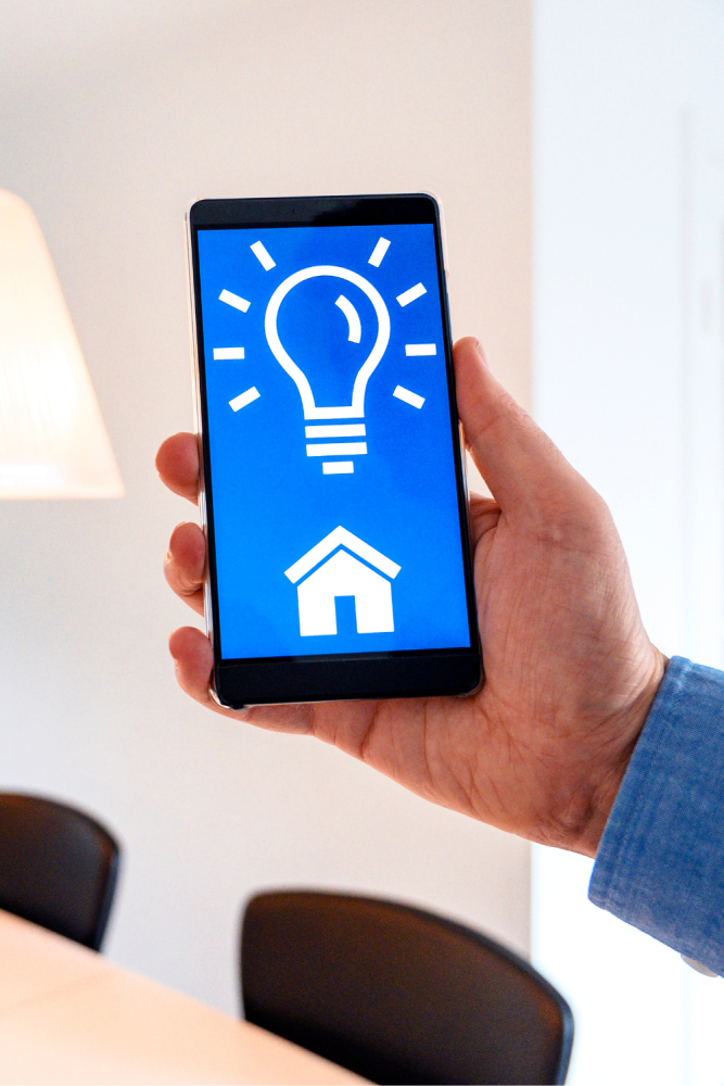 What are the benefits of smart LED lighting in the home