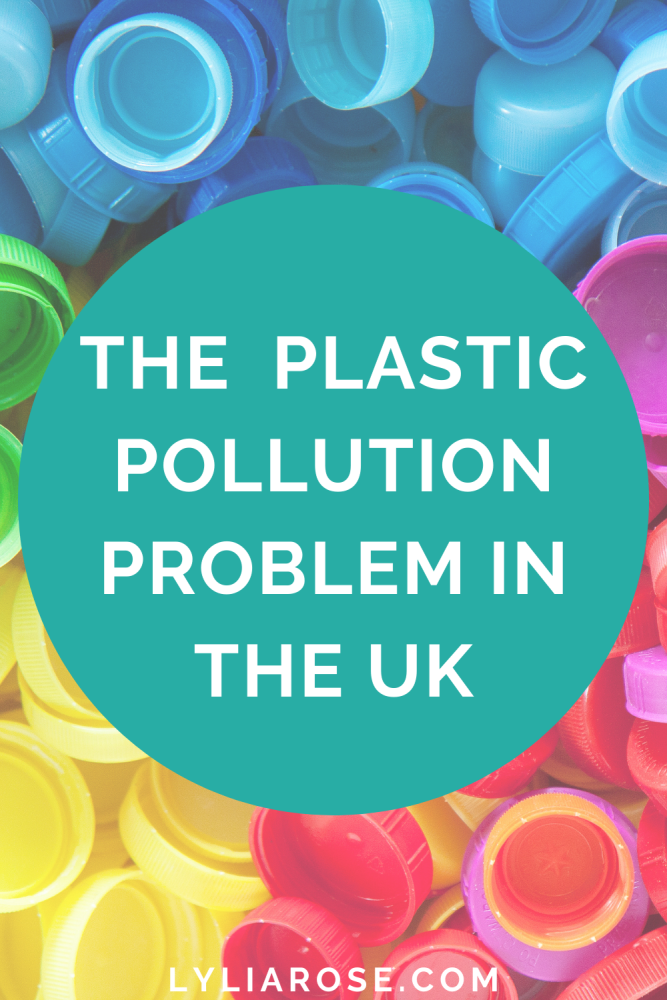 THE PLASTIC POLLUTION PROBLEM in the uk