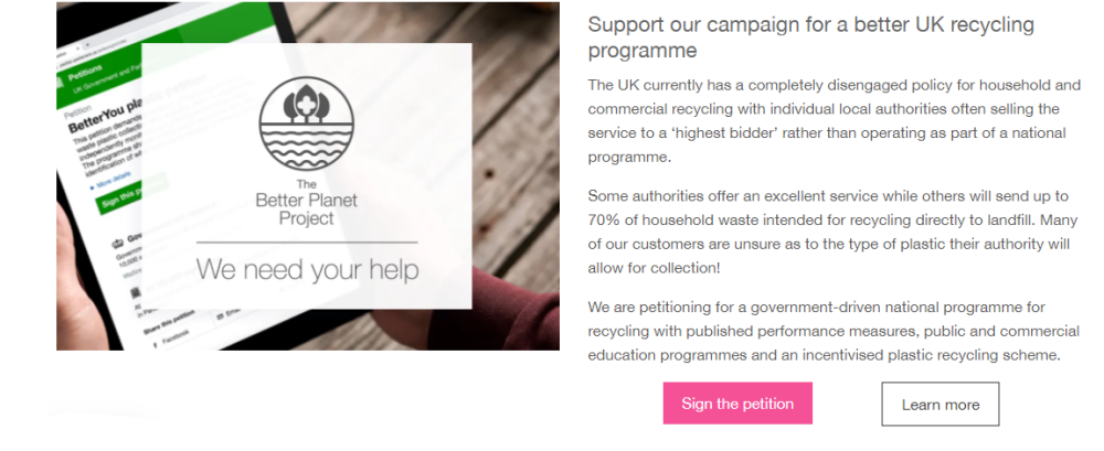 plastic petition uk government