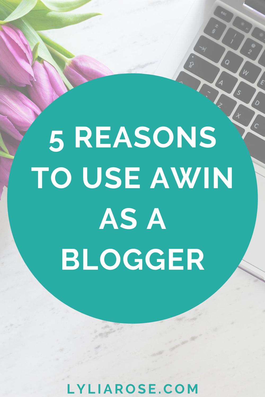 5 reasons to use Awin as a blogger