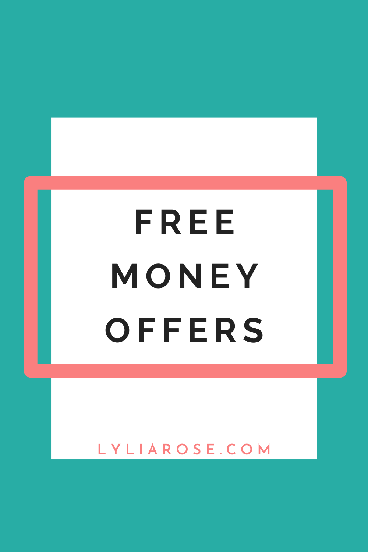 Free money offers UK