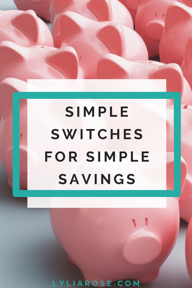 Simple switches for simple savings