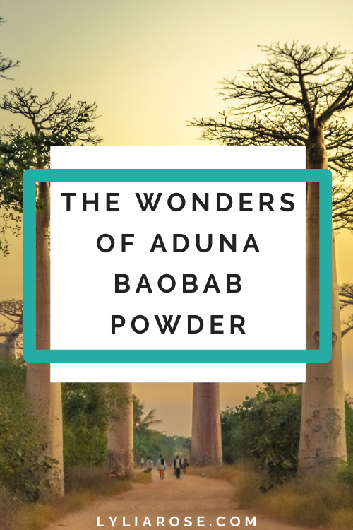 The wonders of Aduna Baobab Powder