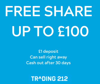 trading 212 free share